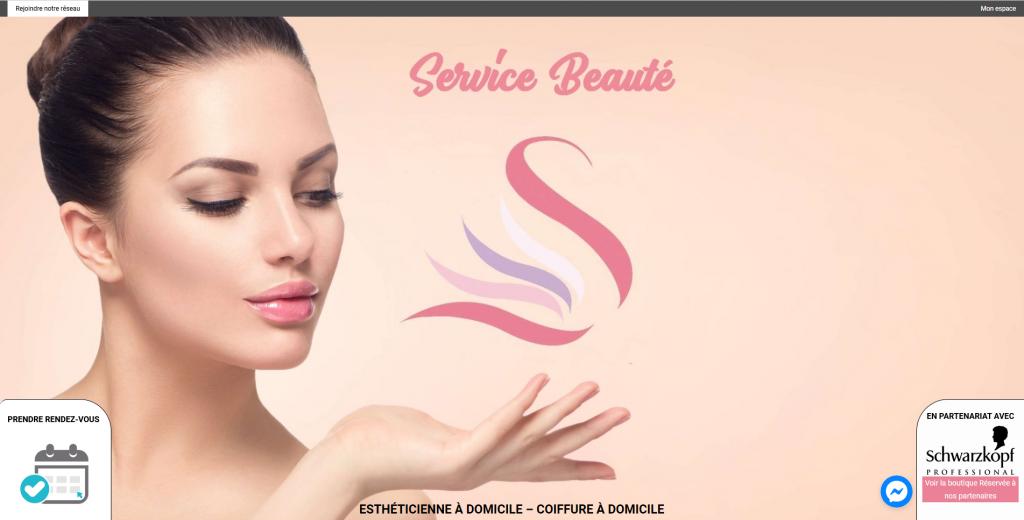 service beauté