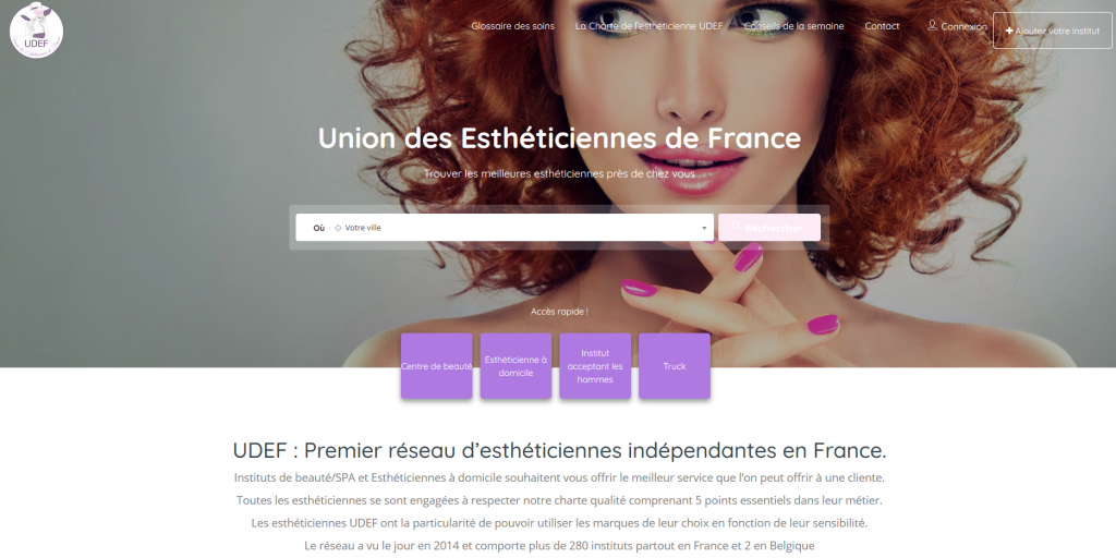 union des estheticiennes de france
